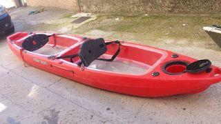 Piragua kayak autovaciable