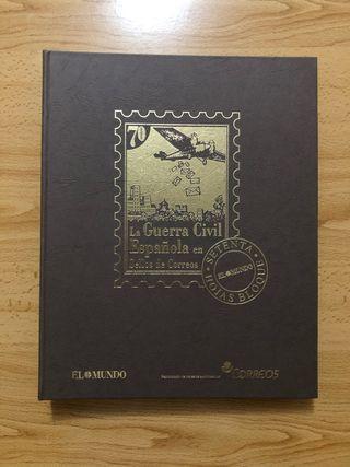 La guerra civil española en sellos de Correos
