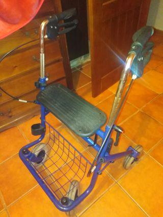 andador de personas mayores o con dificultades