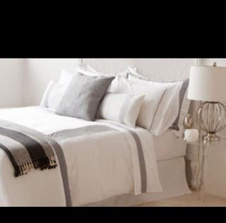 Funda nórdica blanca Zara cama 1,50 cm