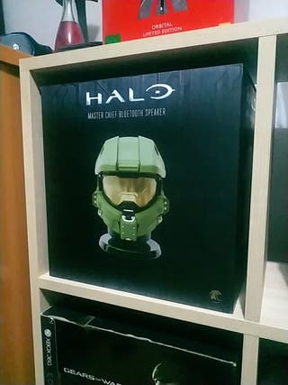 altavoz Bluetooh Halo Master chief
