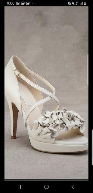 sandalia de novia