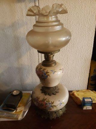 lampara de metal