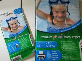 Papel fotográfico para impresión