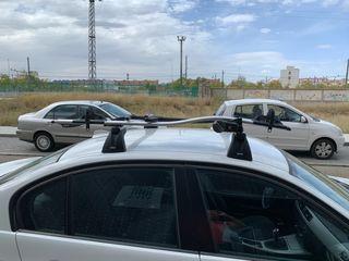 Baca BMW E90 con portabicicletas