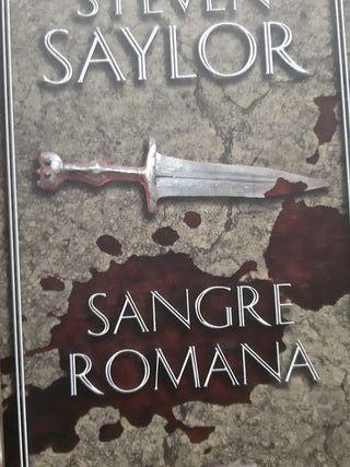 STEVEN SAYLOR Sangre Romana