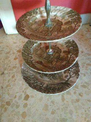 centro de mesa decorativo antiguo