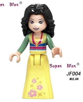 minifigura tipo lego Mulan Disney