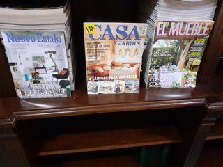 Revistas de decoración 25 unidades por 10 euros