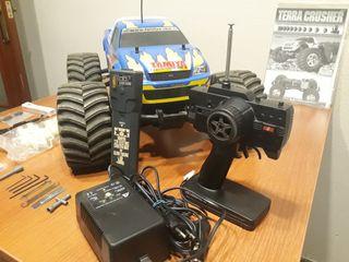 coche radio-control nitro