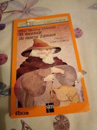 El mensaje de maese Zamaor libro lectura