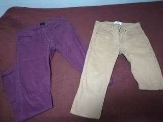 pantalones talla 29, equivale a una s