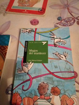 Magos del atardecer libro lectura Bargas