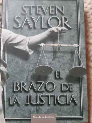 STEVEN SAYLOR El Brazo de la Justicia