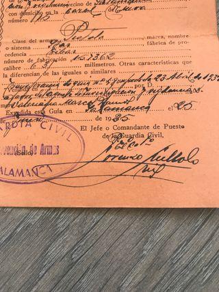 Documento policia nacional fusilado toledo