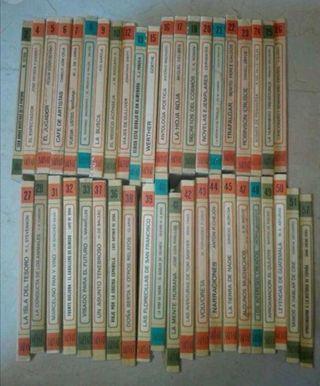 42 Novelas clasicas Biblioteca Salvat 42 tomos