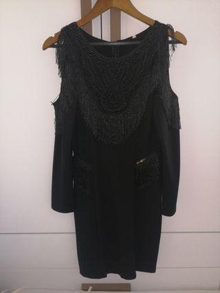 vestido SAHOCO negro talla S