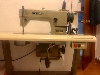 Máquina industrial coser