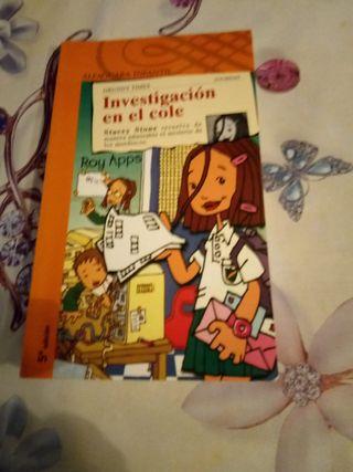 Investigación en el cole libro de lectura