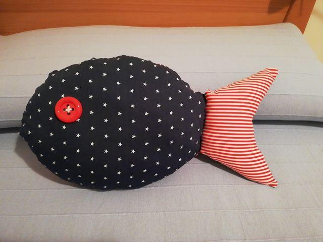 Cojin decoración pez