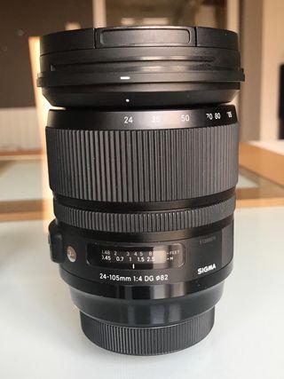Sigma 24-105mm DG Art para Canon