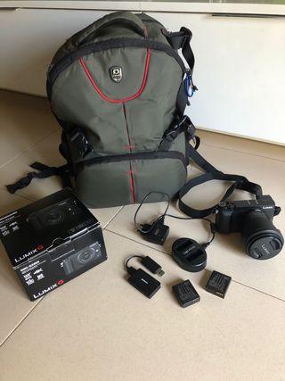 Camara fotos digital lumix gx 80k