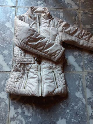 abrigo de niña de 3 a 4 años