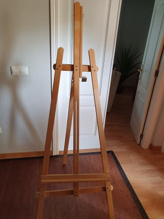 Caballete para pintura
