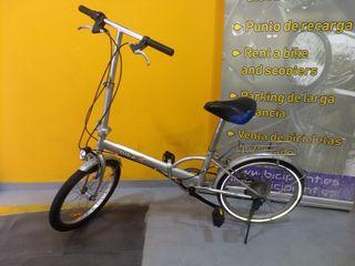 Bicicleta portable