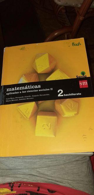 Libro Matemáticas Aplicadas a las CCSS 2