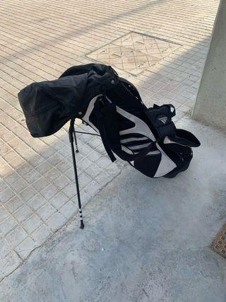Palos de golf y bolsa de golf adidas