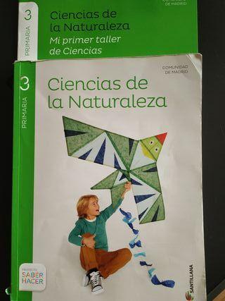 Ciencias de la naturaleza 3 primaria Santillana