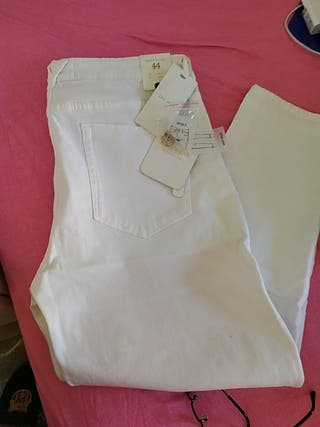 pantalón blanco easy wear