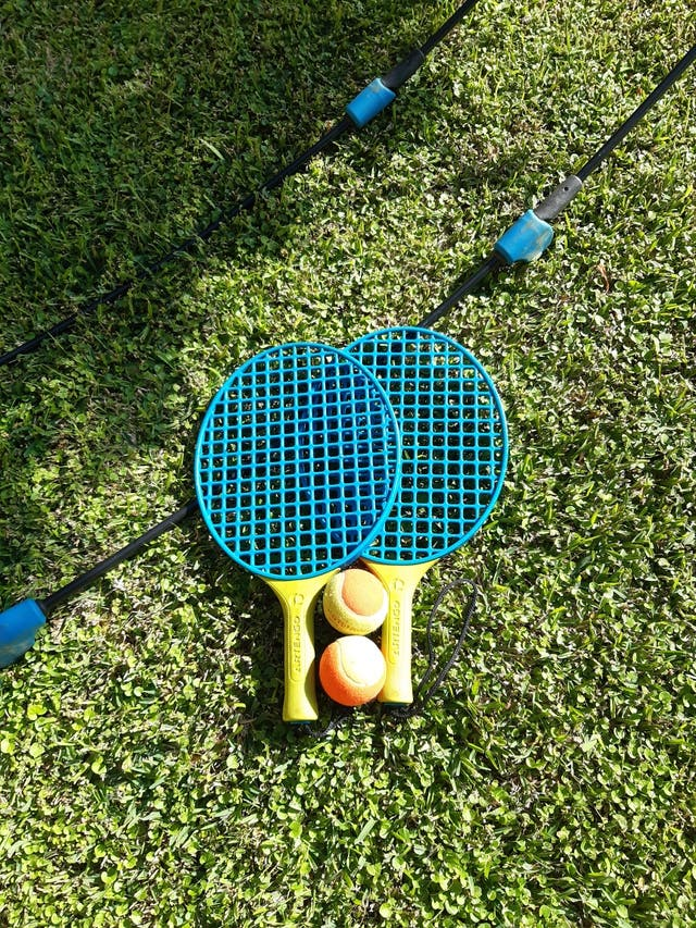 Set de tenis portátil