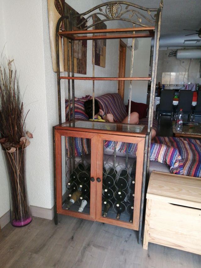 mueble bar rústico