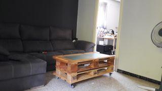 mesa de centro, hecha a mano