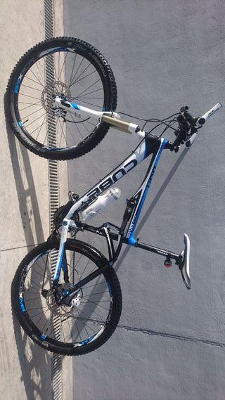 mtb bicicleta cube ams130 tallal doble suspensión
