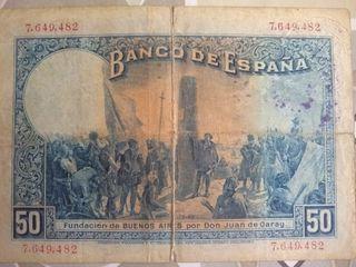 billete 1927