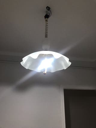 Lámpara de techo extensible