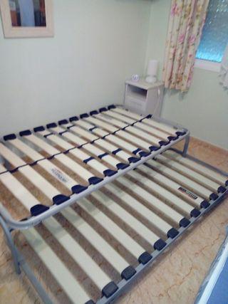 somier, cama, colchon, láminas