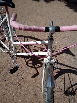 Bicicleta rieju de paseo vintage