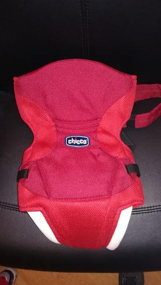 mochila porta bebés.