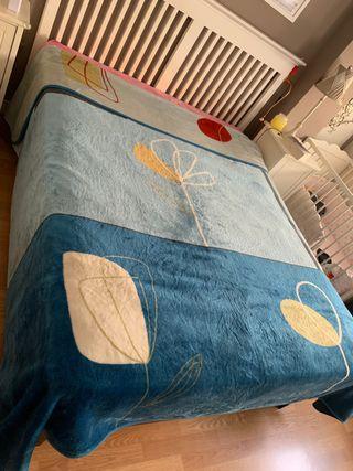 Manta Manterol para cama de 150cm