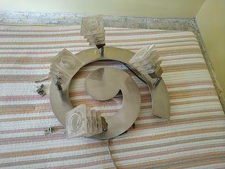 lampara espiral 4 focos