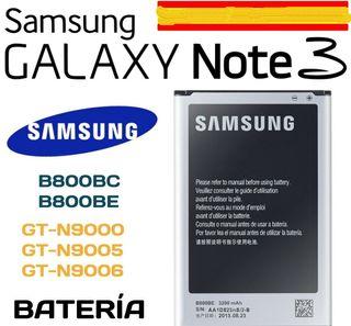 Bateria Samsung Galaxy NOTE 3. nueva