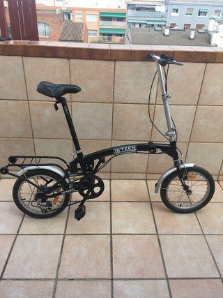 Bici plegable teen 16'
