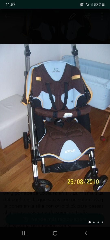 Pack Silla paseo, cuco y sillas coche