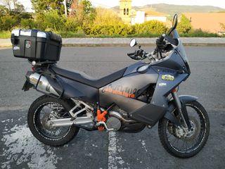 KTM 990 adventure ABS negra