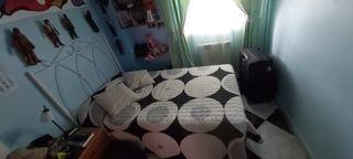 cama de 105,cabecero de forja,somier y colchon