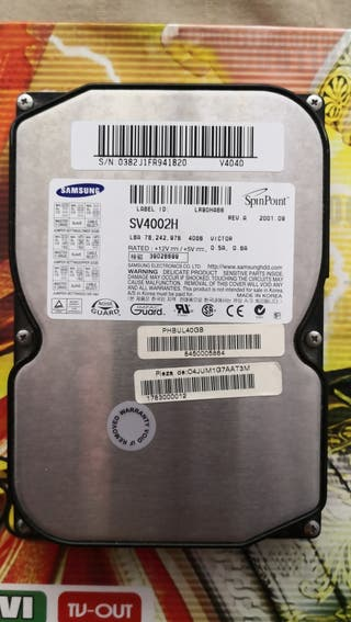 Disco duro PC Samsung SV4002H